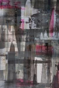 """""""ohne Titel"""", 35x50 cm, Acryl auf Papier"""