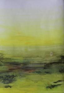 """""""ohne Titel"""", 29x41 cm, Acryl und Kohle auf Papier"""