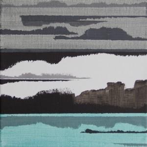 """ohne Titel"", 25x25 cm, Acryl auf Leinwand"