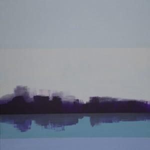 """ohne Titel"", 80x80 cm, Acryl auf Leinwand"