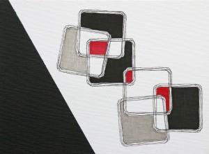 """Equlibrium 3"", 18 x 24 cm, Acryl und Fineliner auf Malkarton"