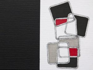 """Equlibrium 1"", 18 x 24 cm, Acryl und Fineliner auf Malkarton"