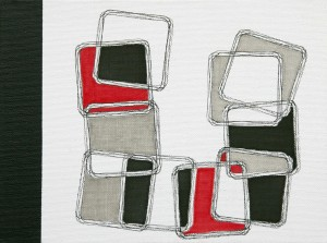 """Equlibrium 4"", 18 x 24 cm, Acryl und Fineliner auf Malkarton"