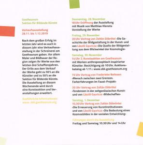 Ausstellung Goetheanum 2019-2